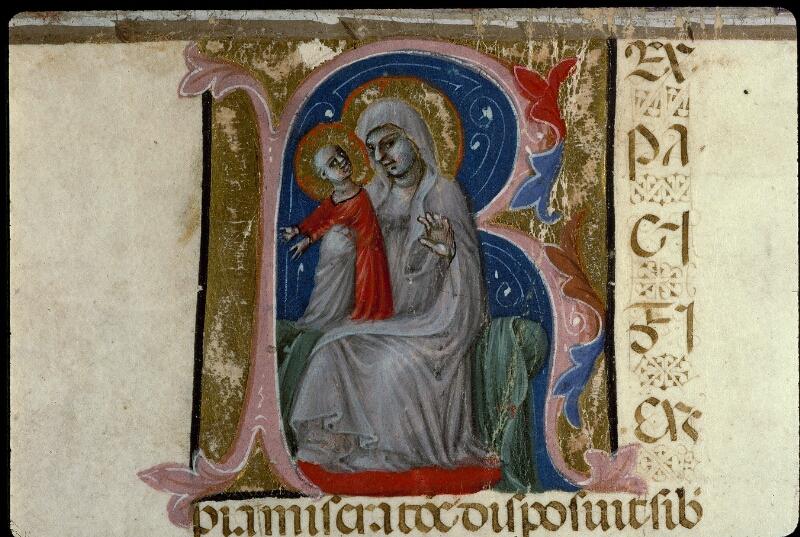 Angers, Bibl. mun., ms. 0378, f. 001v - vue 5