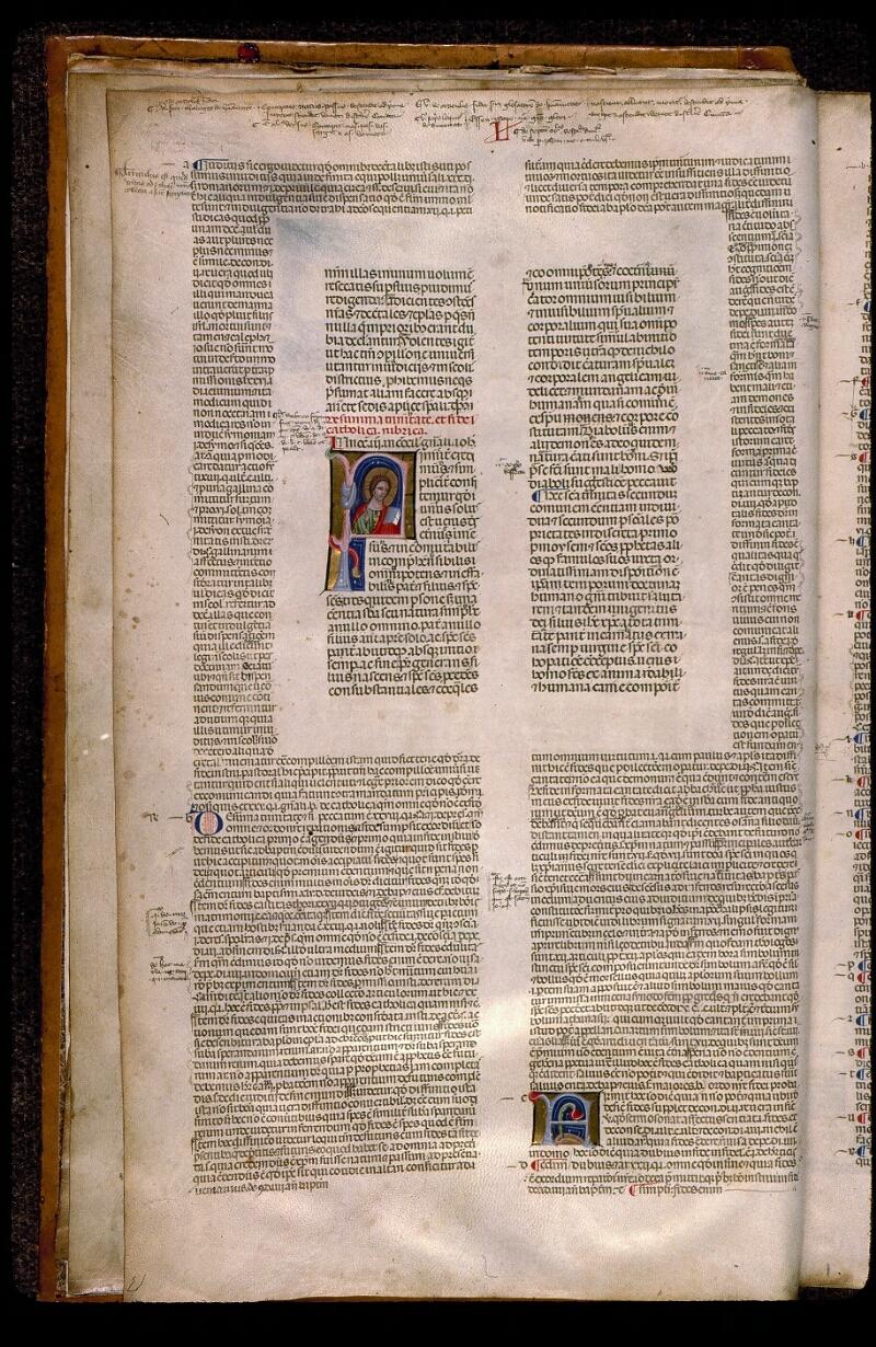 Angers, Bibl. mun., ms. 0378, f. 002v - vue 1