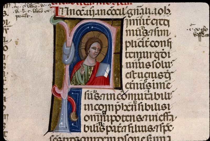 Angers, Bibl. mun., ms. 0378, f. 002v - vue 2
