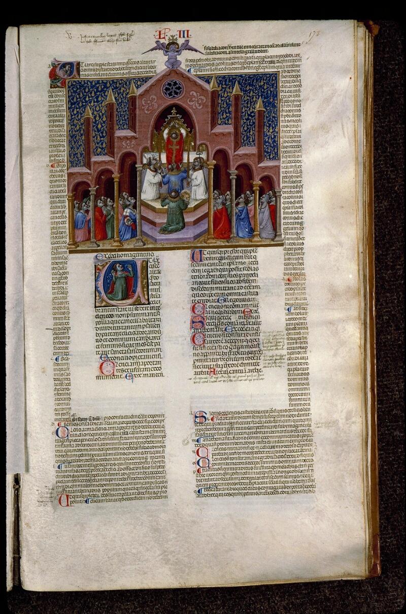 Angers, Bibl. mun., ms. 0378, f. 172 - vue 1
