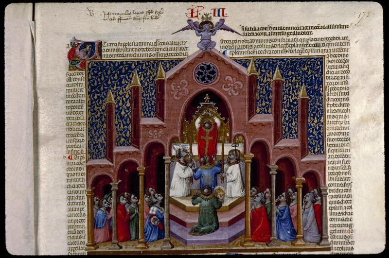 Angers, Bibl. mun., ms. 0378, f. 172 - vue 2