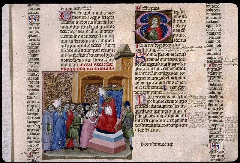 Angers, Bibl. mun., ms. 0378, f. 263 - vue 2