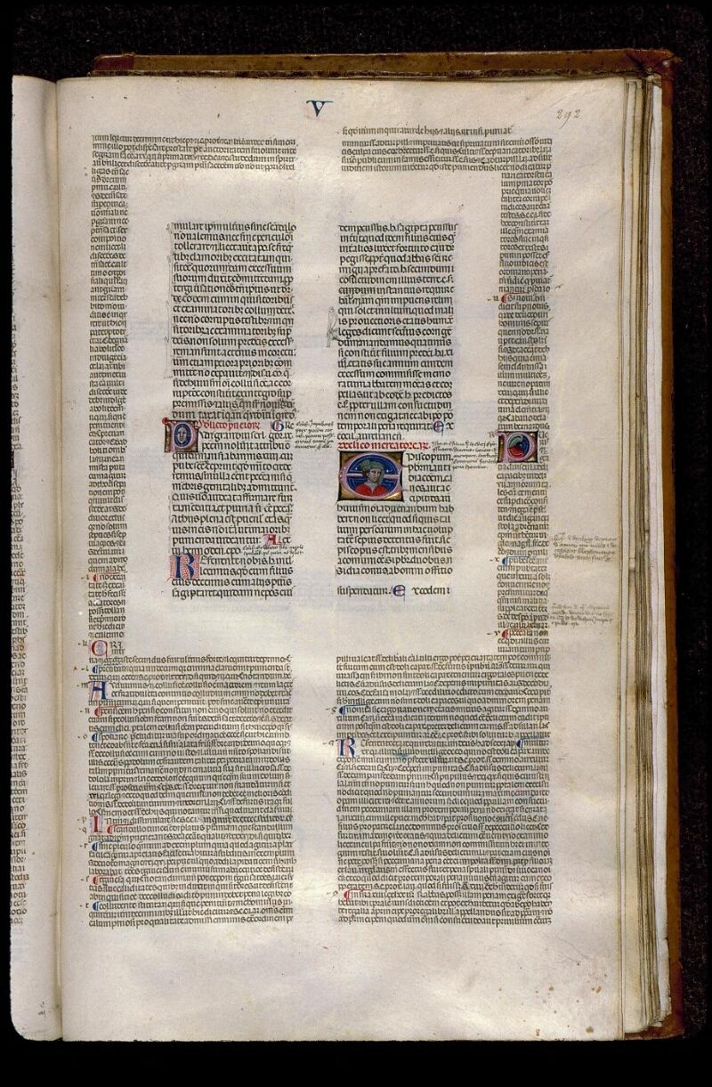 Angers, Bibl. mun., ms. 0378, f. 292