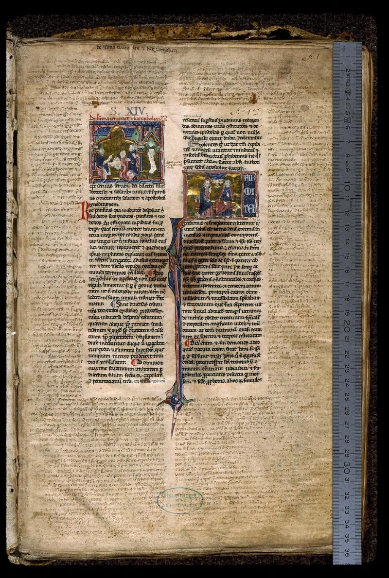 Angers, Bibl. mun., ms. 0379, f. 001 - vue 1