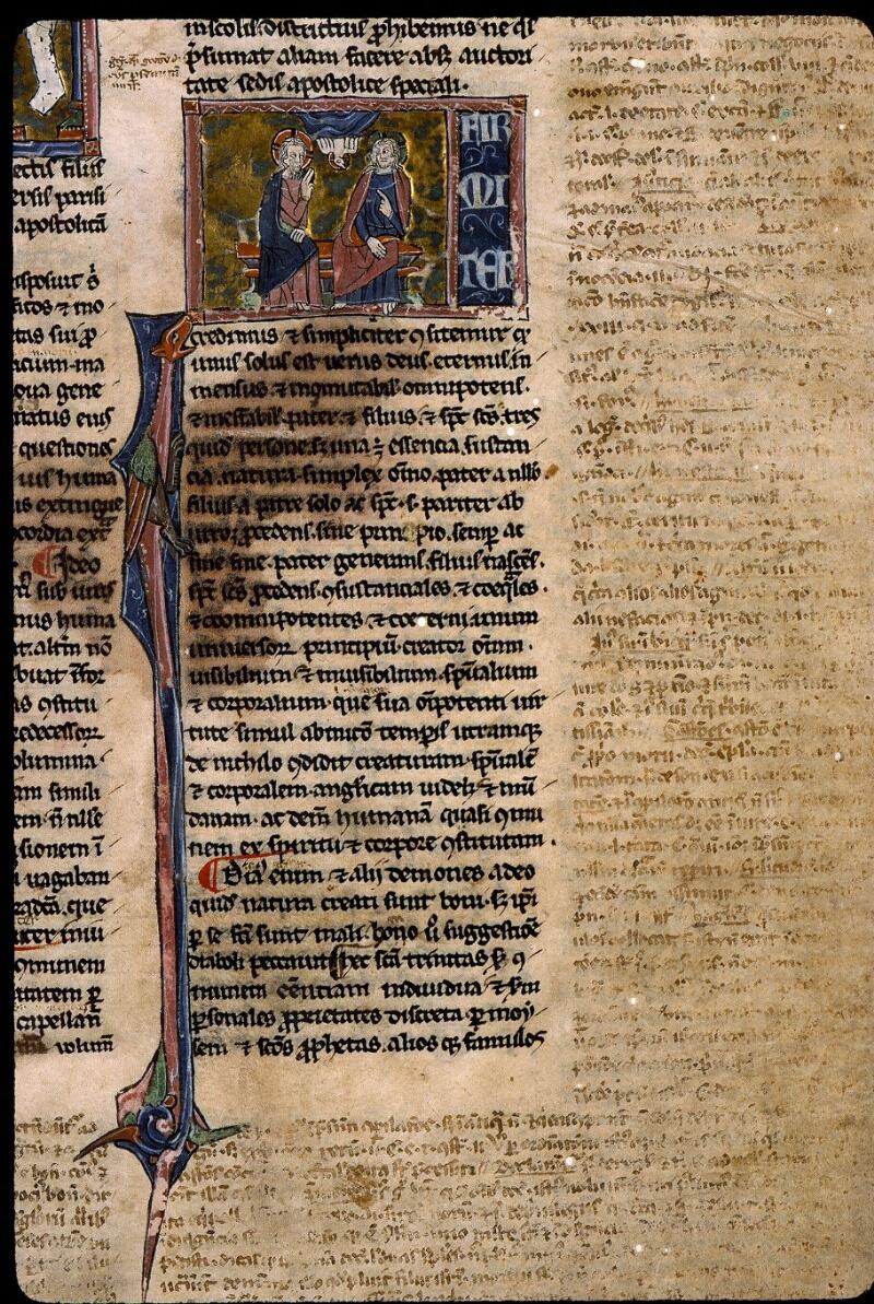 Angers, Bibl. mun., ms. 0379, f. 001 - vue 3