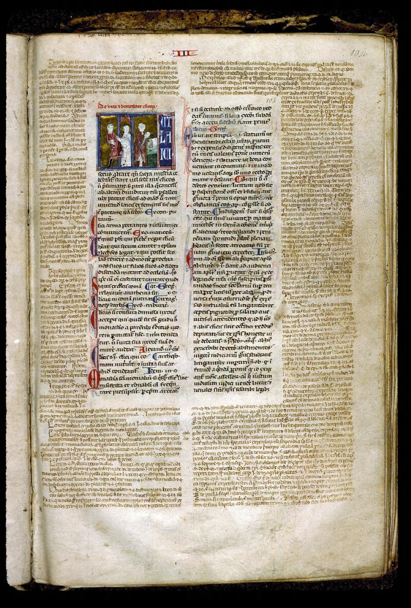 Angers, Bibl. mun., ms. 0379, f. 104 - vue 1