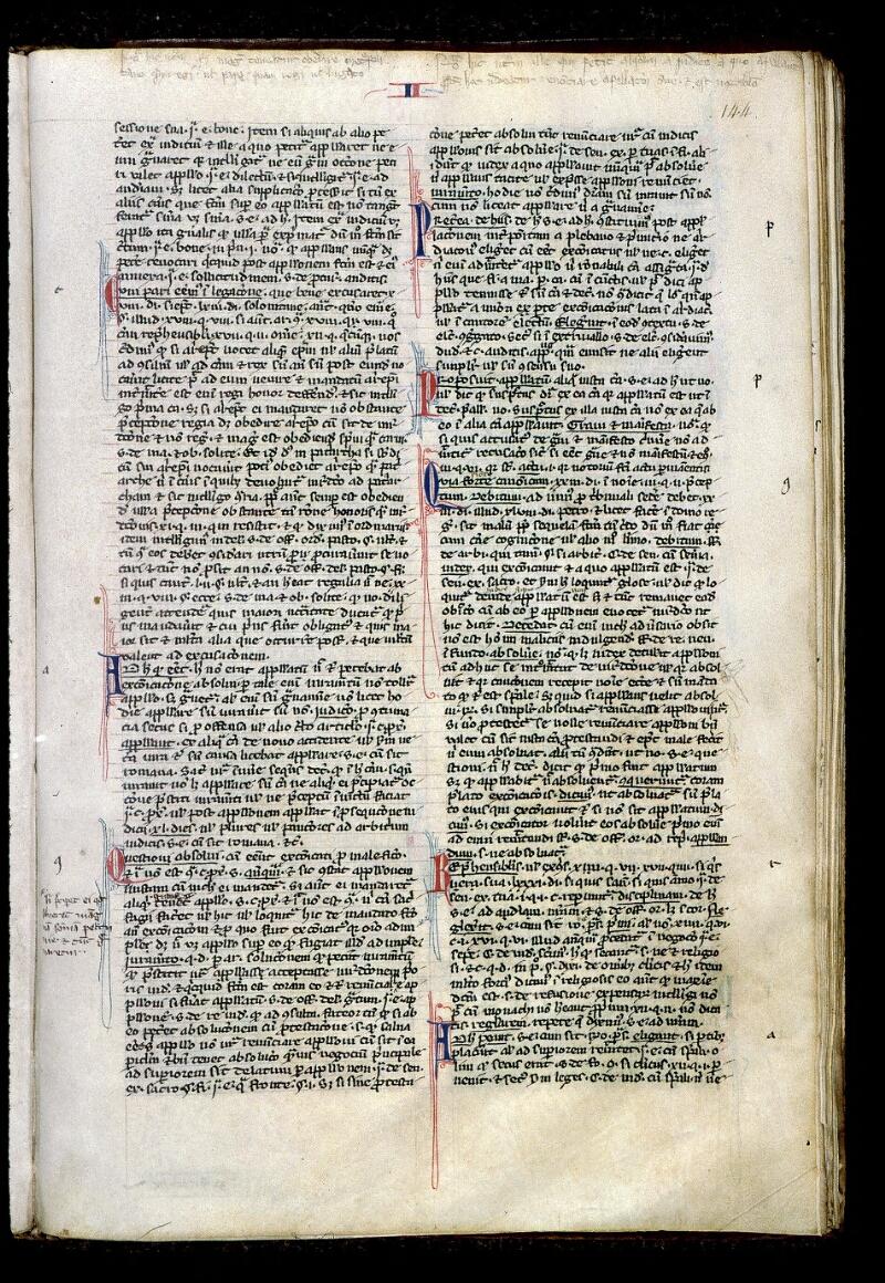 Angers, Bibl. mun., ms. 0380, f. 144