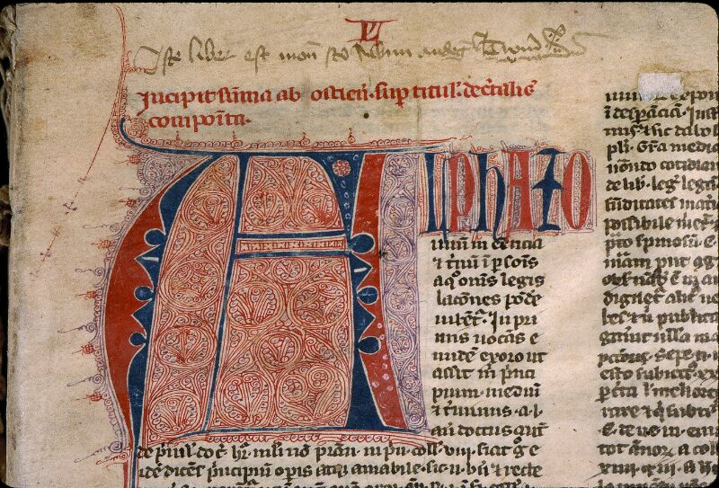 Angers, Bibl. mun., ms. 0382, f. 001 - vue 3