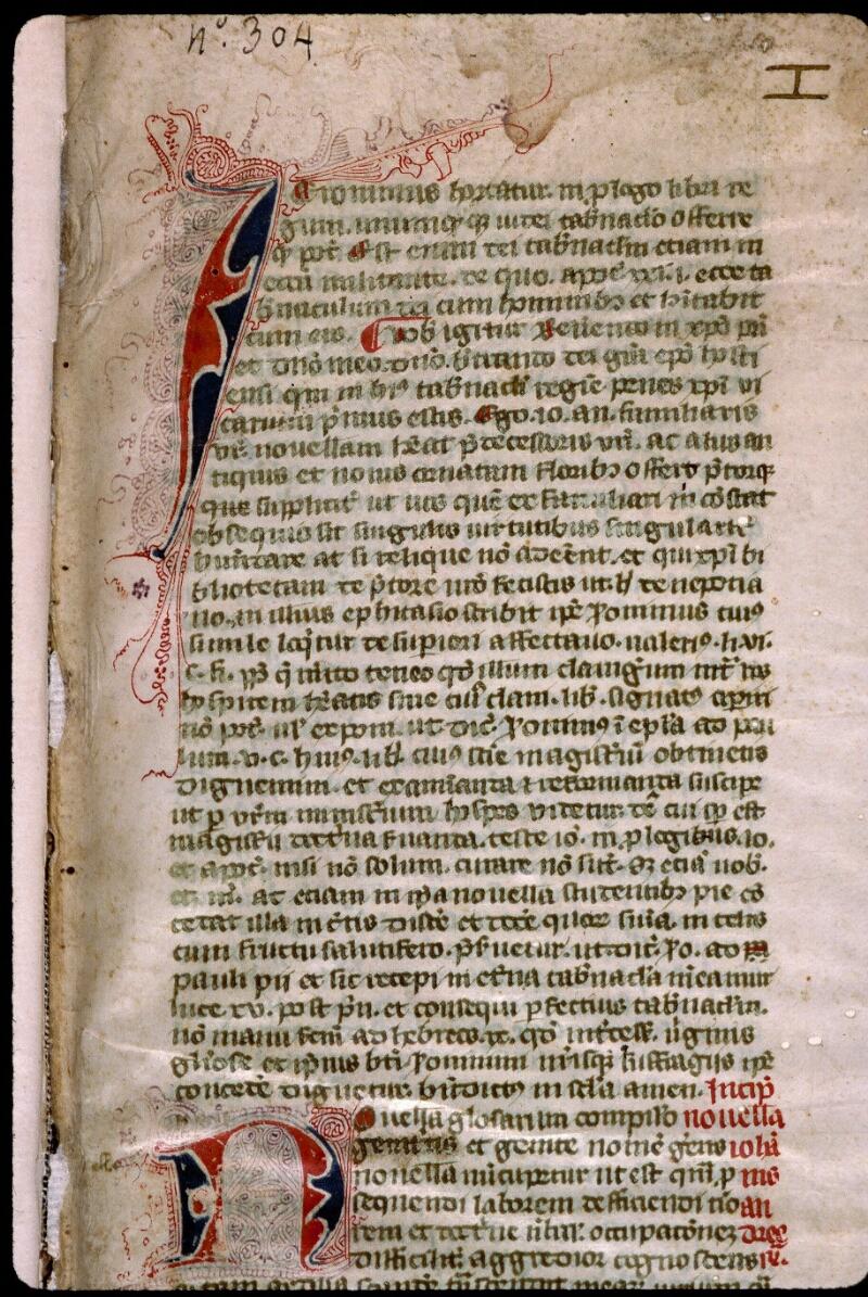 Angers, Bibl. mun., ms. 0383, f. 001 - vue 3