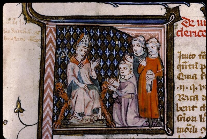 Angers, Bibl. mun., ms. 0384, f. 001 - vue 3