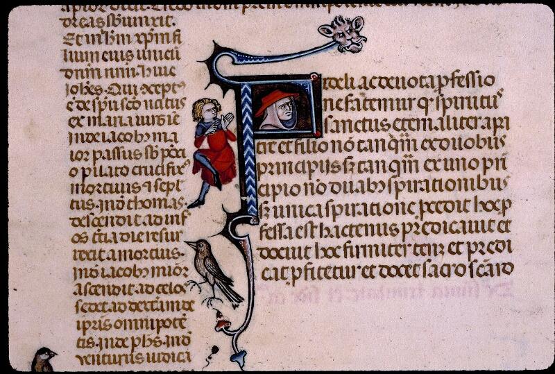 Angers, Bibl. mun., ms. 0385, f. 002v - vue 2