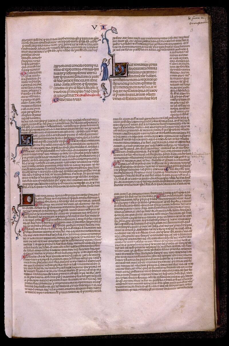 Angers, Bibl. mun., ms. 0385, f. 003 - vue 1