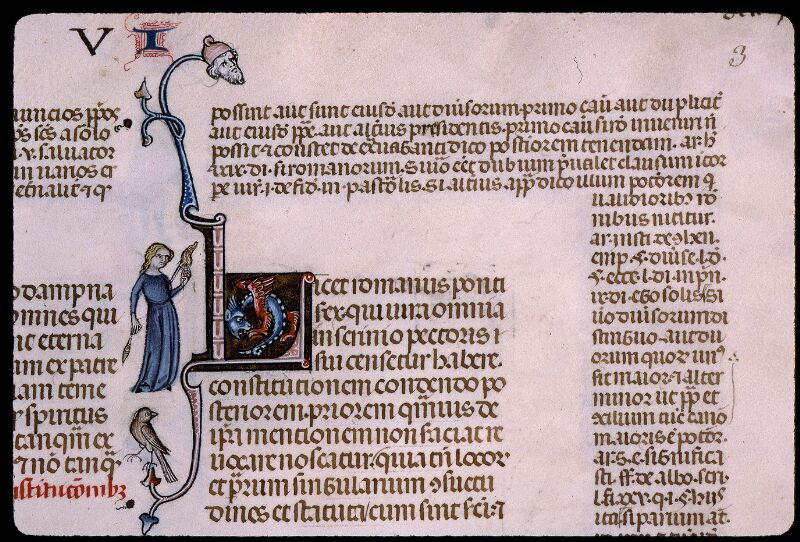 Angers, Bibl. mun., ms. 0385, f. 003 - vue 2