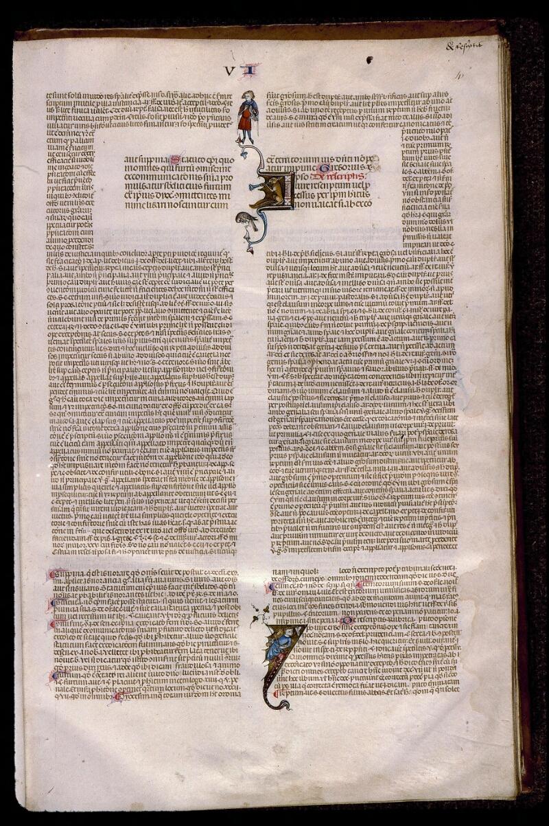 Angers, Bibl. mun., ms. 0385, f. 004 - vue 1