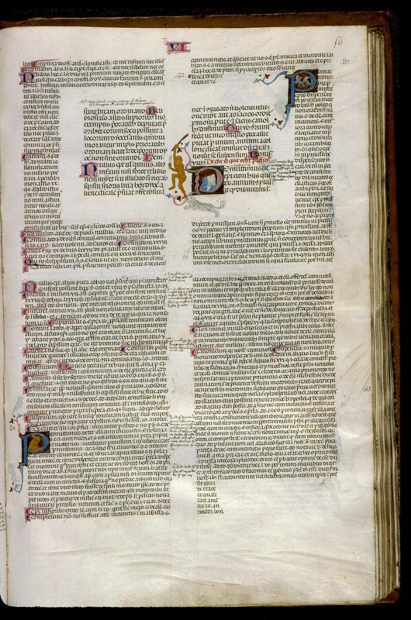 Angers, Bibl. mun., ms. 0385, f. 056 - vue 1
