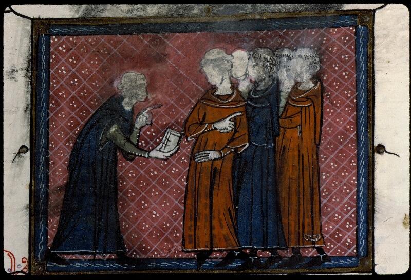 Angers, Bibl. mun., ms. 0387, f. 107 - vue 2