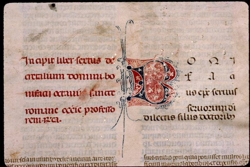 Angers, Bibl. mun., ms. 0389, f. 001 - vue 3