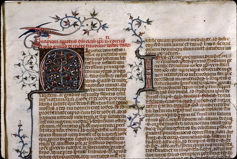 Angers, Bibl. mun., ms. 0390, f. 153 - vue 2