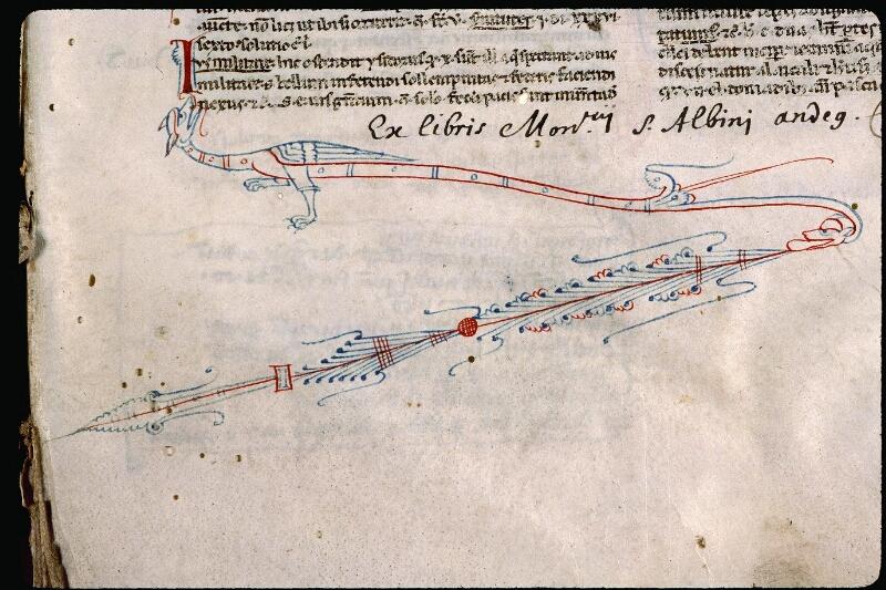 Angers, Bibl. mun., ms. 0394, f. 001 - vue 3