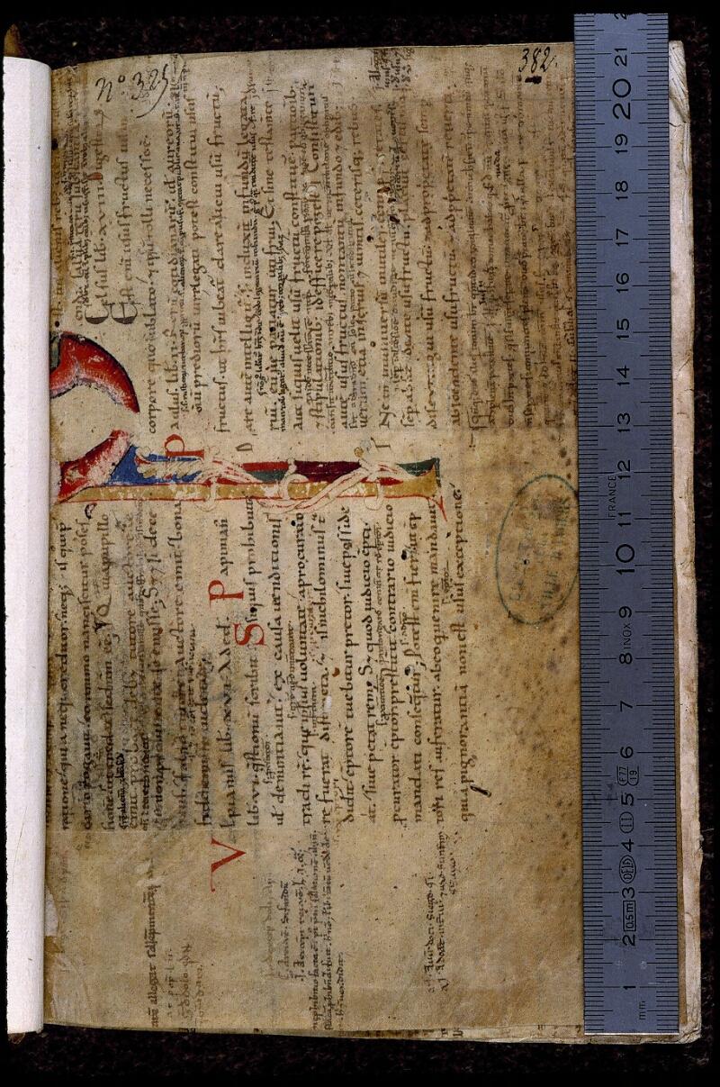 Angers, Bibl. mun., ms. 0395, f. A - vue 1