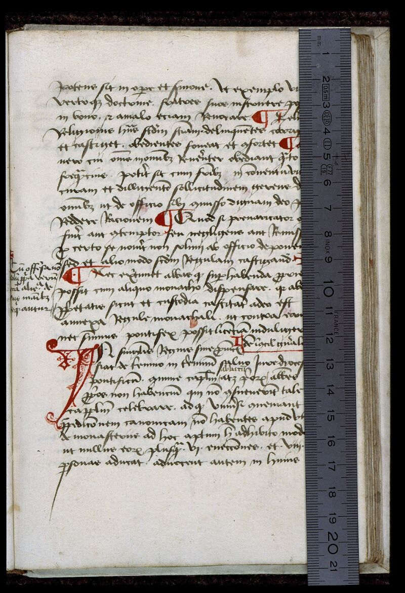 Angers, Bibl. mun., ms. 0407, f. 054 - vue 1