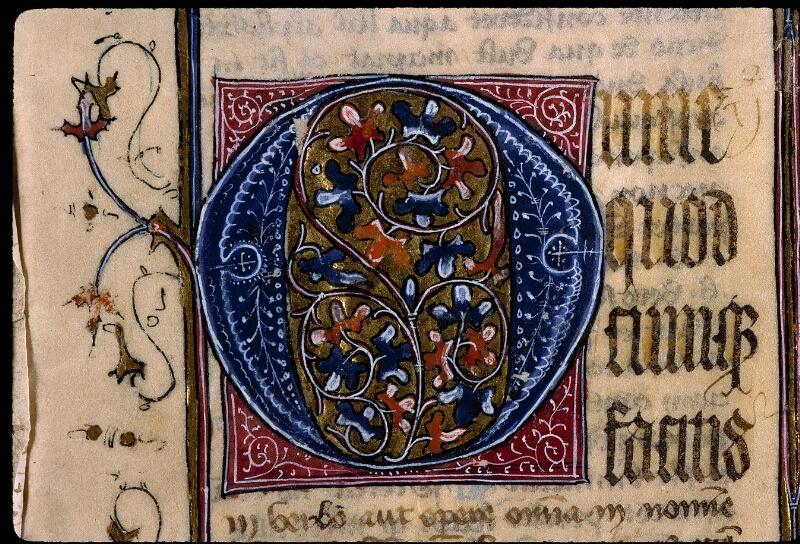 Angers, Bibl. mun., ms. 0420, f. 001 - vue 3