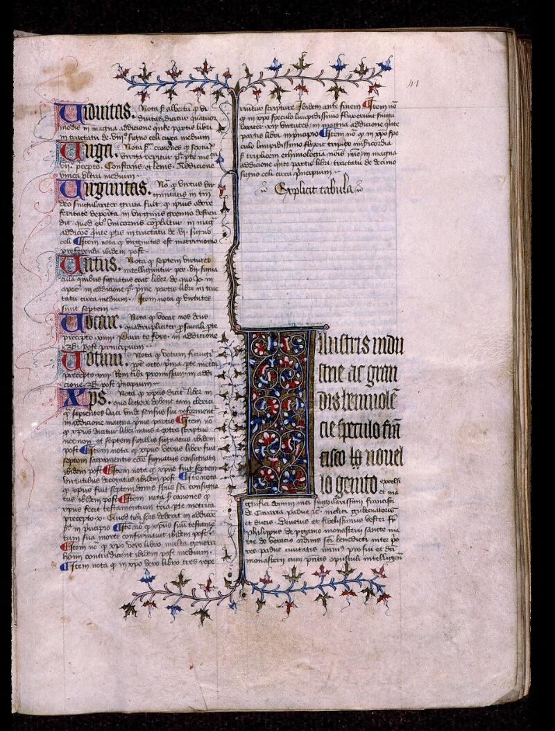 Angers, Bibl. mun., ms. 0420, f. 041 - vue 1