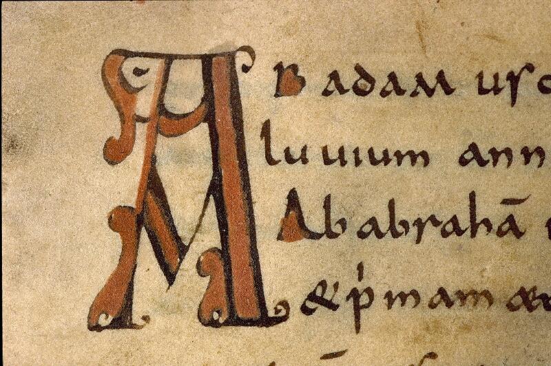 Angers, Bibl. mun., ms. 0476, f. 001 - vue 3