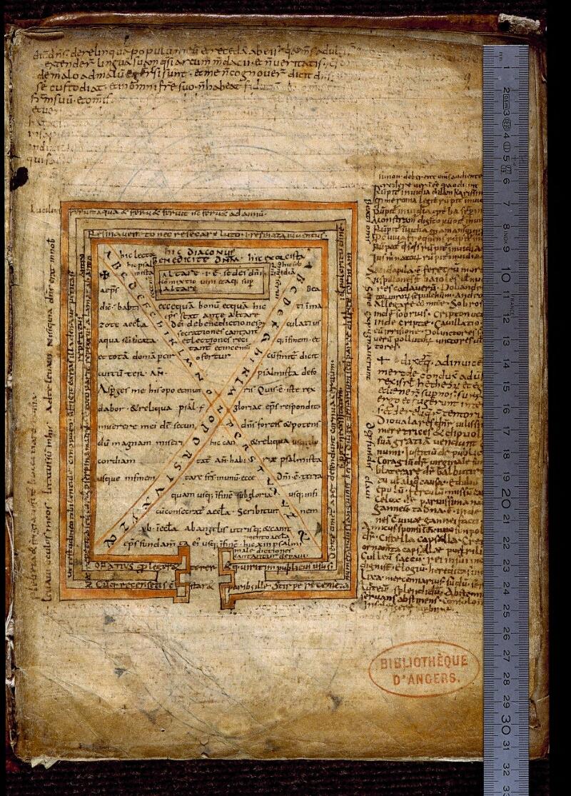 Angers, Bibl. mun., ms. 0477, f. 009 - vue 1