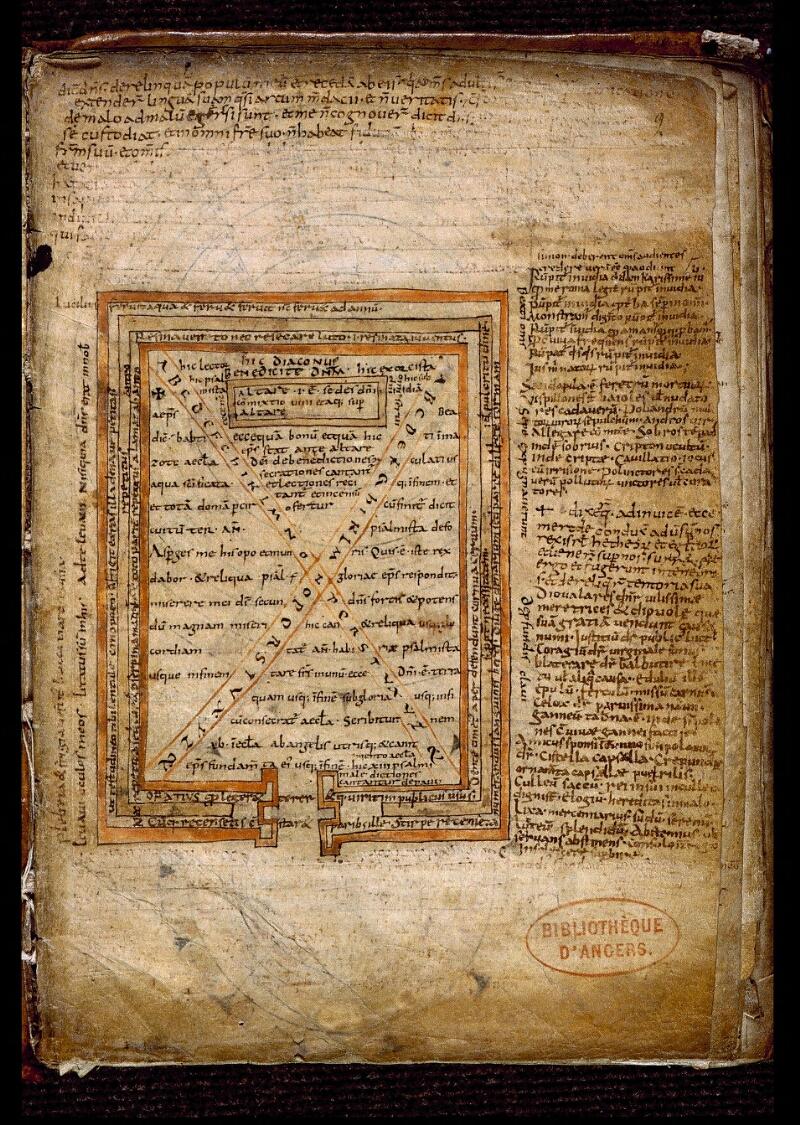 Angers, Bibl. mun., ms. 0477, f. 009 - vue 2