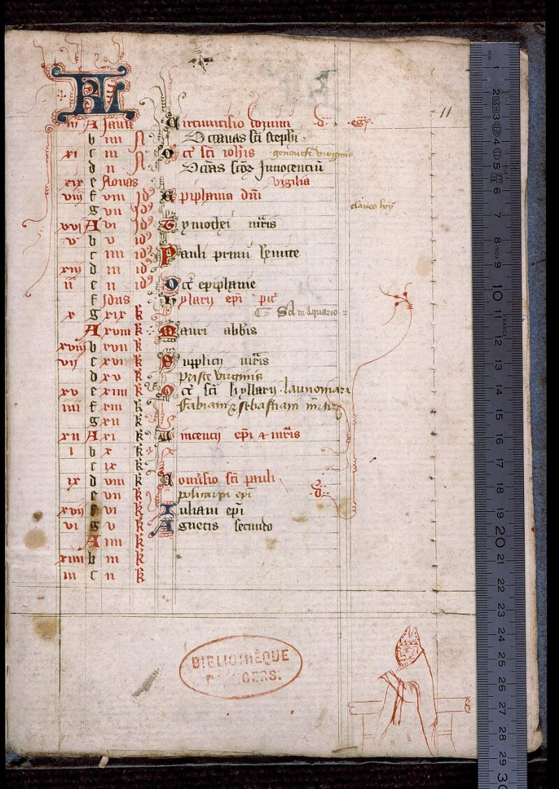 Angers, Bibl. mun., ms. 0478, p. 011 - vue 1