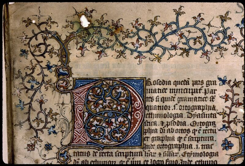 Angers, Bibl. mun., ms. 0496, f. 001 - vue 3