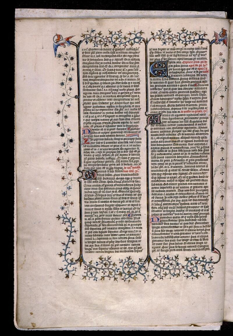 Angers, Bibl. mun., ms. 0496, f. 007v - vue 1