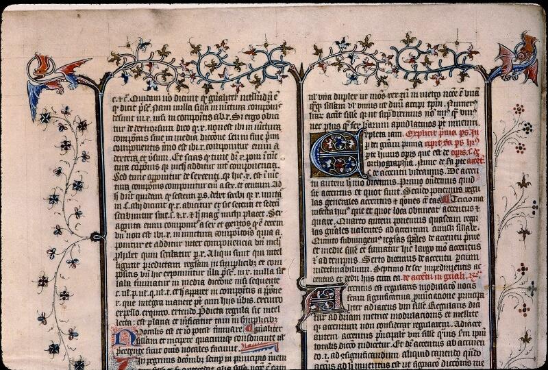Angers, Bibl. mun., ms. 0496, f. 007v - vue 2