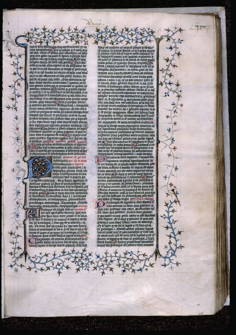 Angers, Bibl. mun., ms. 0496, f. 057 - vue 1