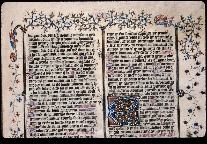 Angers, Bibl. mun., ms. 0496, f. 106 - vue 2