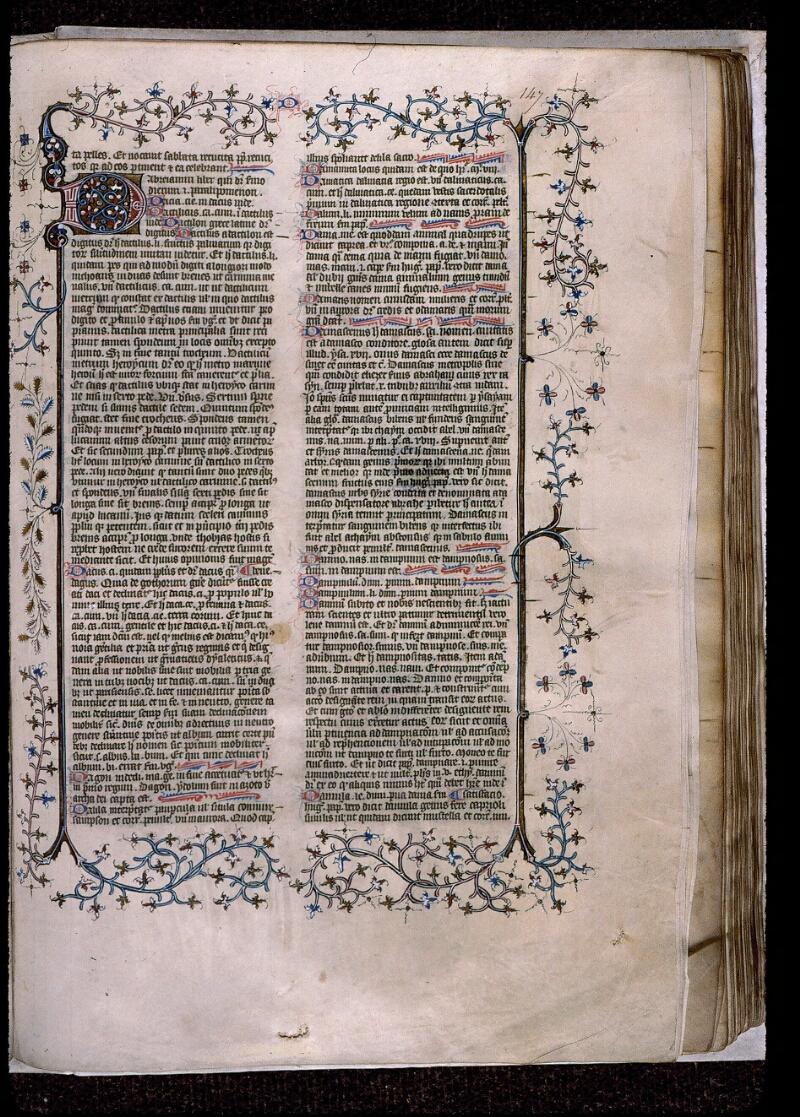 Angers, Bibl. mun., ms. 0496, f. 147 - vue 1