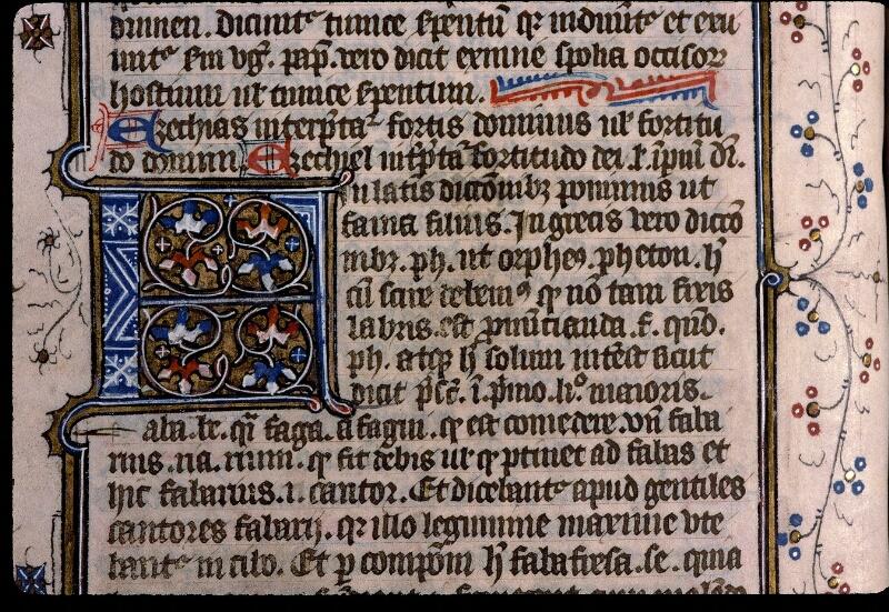Angers, Bibl. mun., ms. 0496, f. 176v - vue 2
