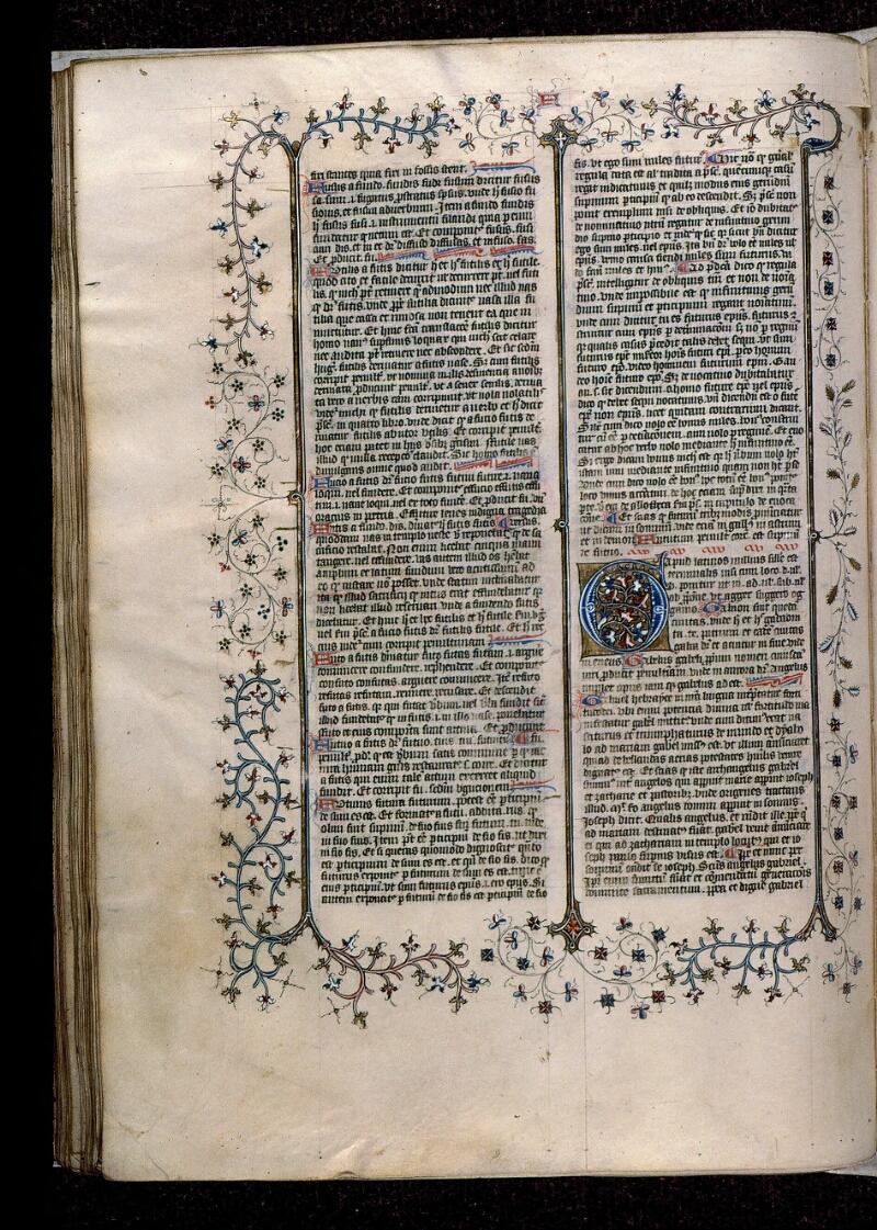 Angers, Bibl. mun., ms. 0496, f. 194v - vue 1