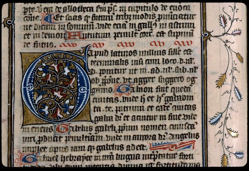 Angers, Bibl. mun., ms. 0496, f. 194v - vue 2