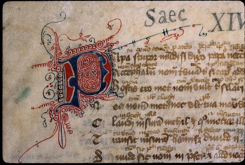Angers, Bibl. mun., ms. 0523, f. 001 - vue 3
