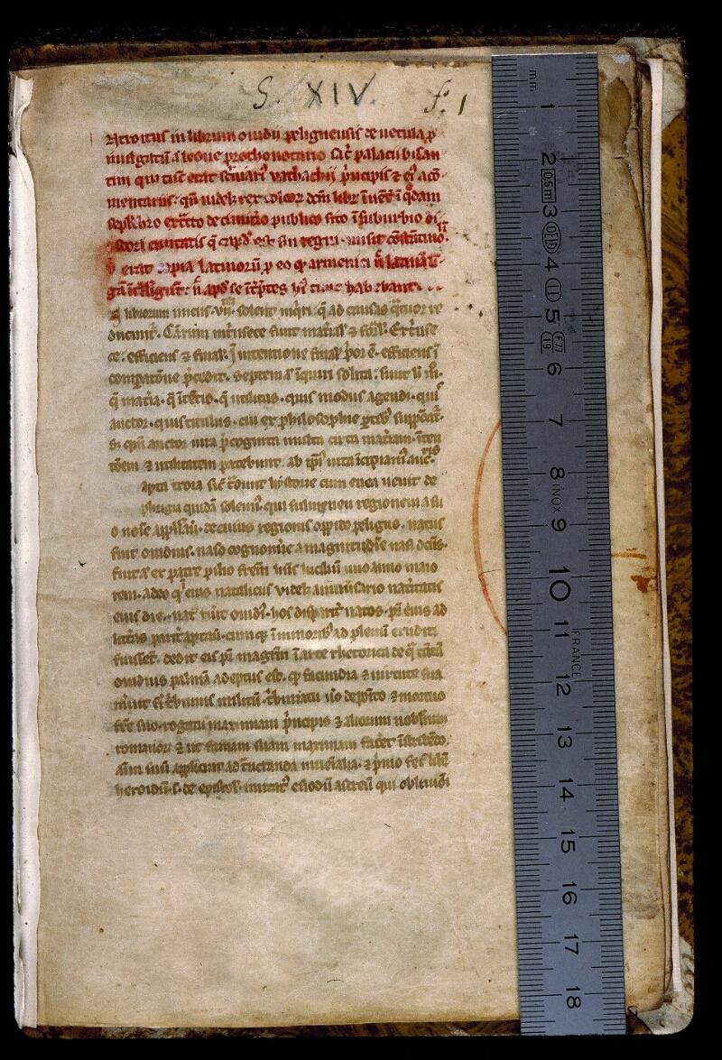 Angers, Bibl. mun., ms. 0541, f. 001 - vue 1