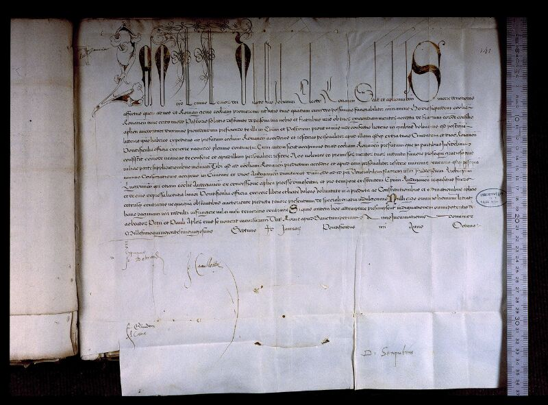 Angers, Bibl. mun., ms. 0707, f. 141 - vue 1