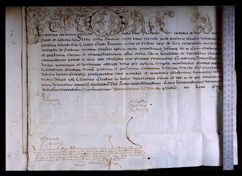 Angers, Bibl. mun., ms. 0707, f. 260 - vue 1