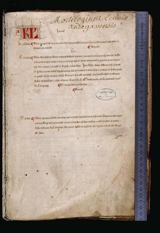 Angers, Bibl. mun., ms. 0736, f. 002 - vue 1