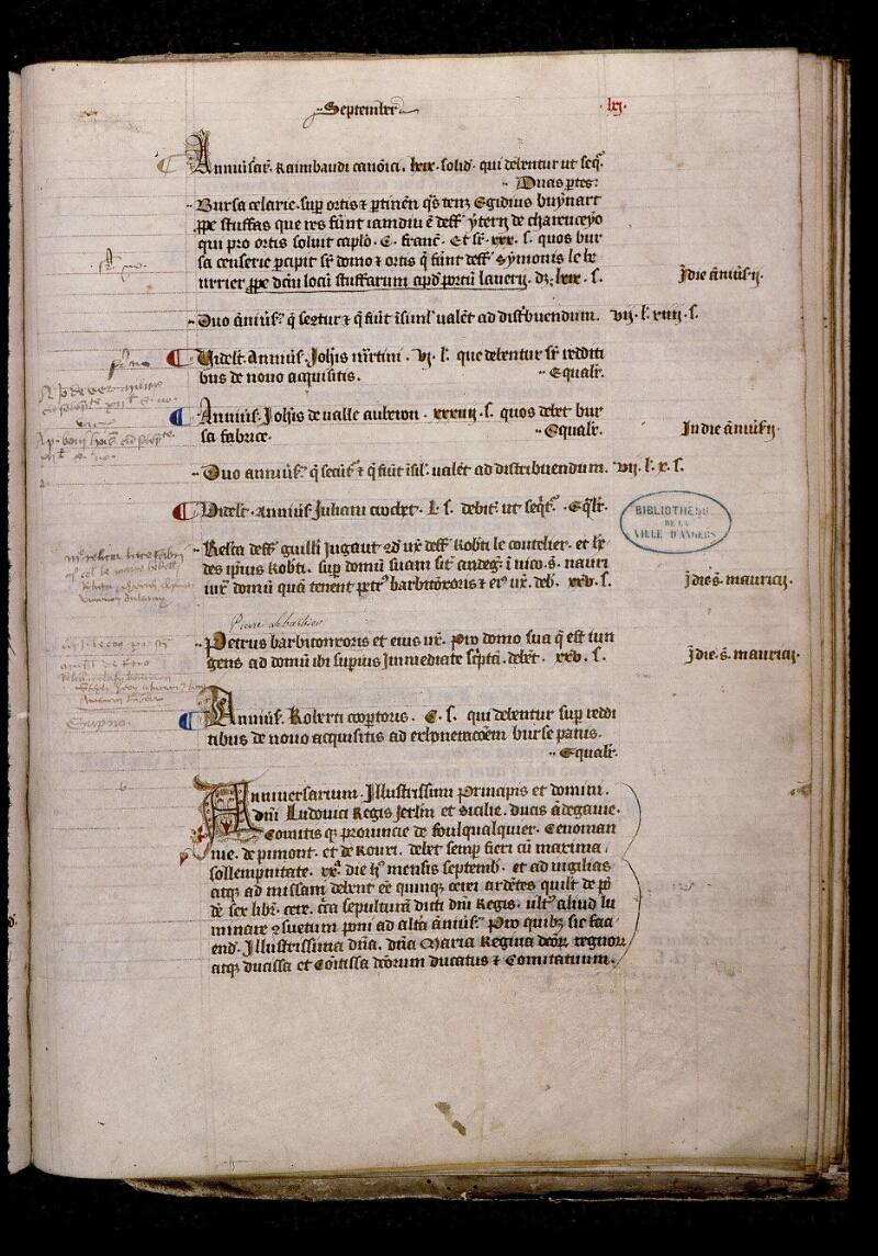 Angers, Bibl. mun., ms. 0737, f. 061 - vue 1