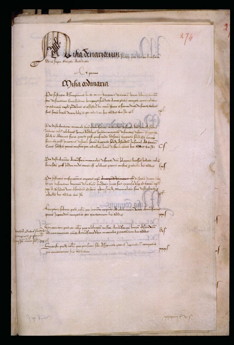 Angers, Bibl. mun., ms. 0750, f. 274