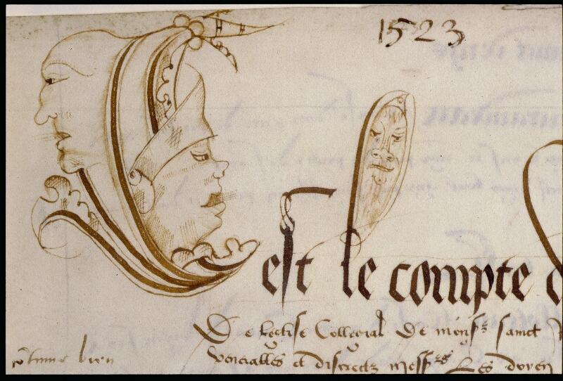 Angers, Bibl. mun., ms. 0751, f. 015 - vue 2