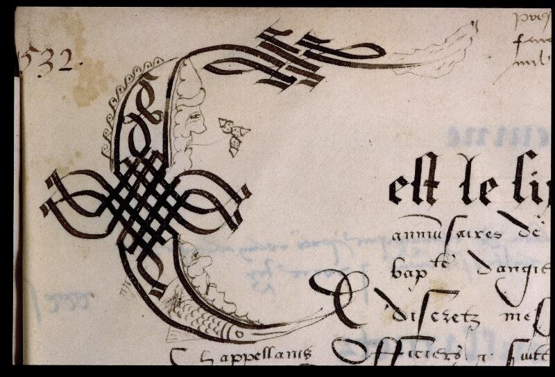 Angers, Bibl. mun., ms. 0751, f. 131 - vue 2