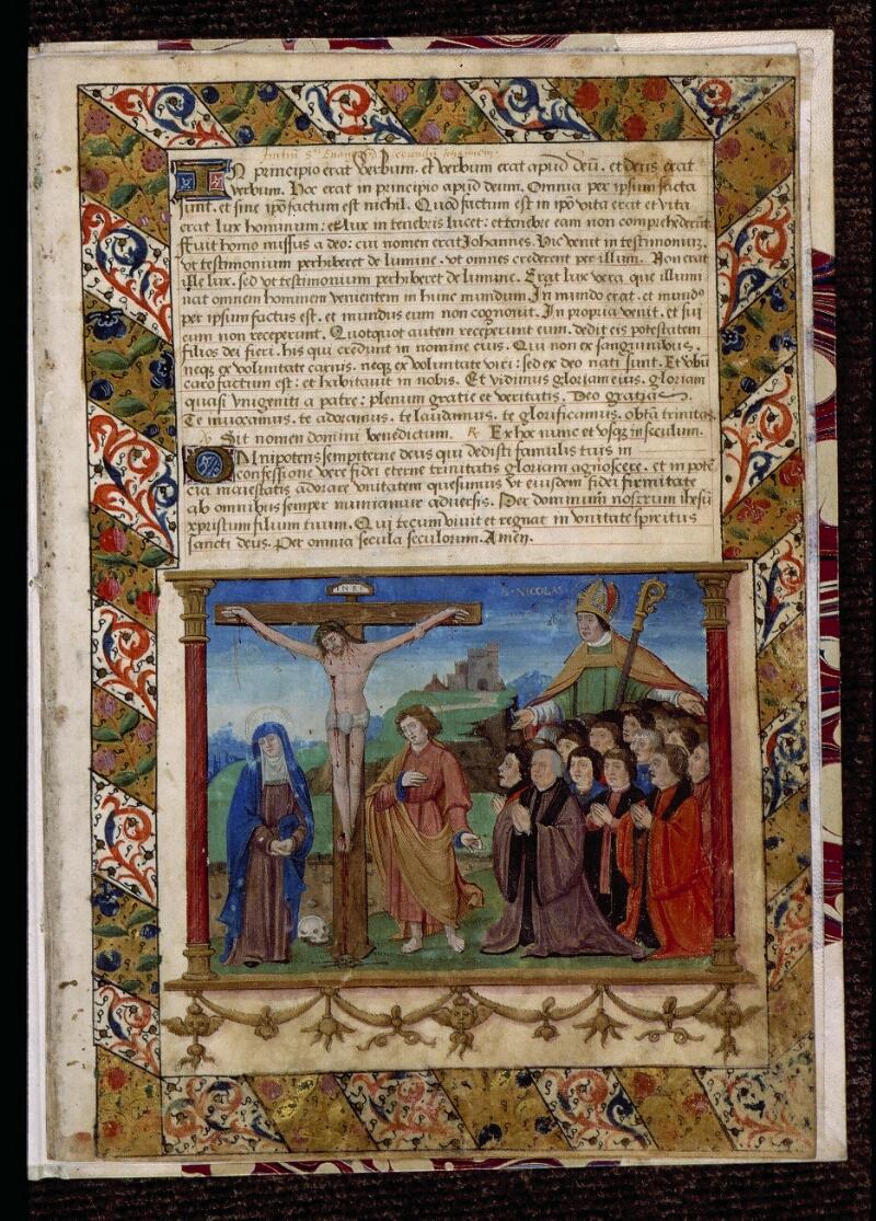 Angers, Bibl. mun., ms. 0762, f. 001 - vue 2